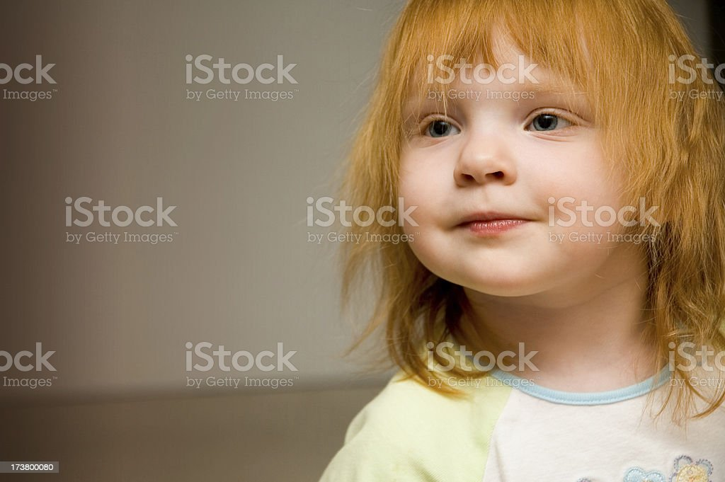 Ragamuffin Redhead Portrait stock photo