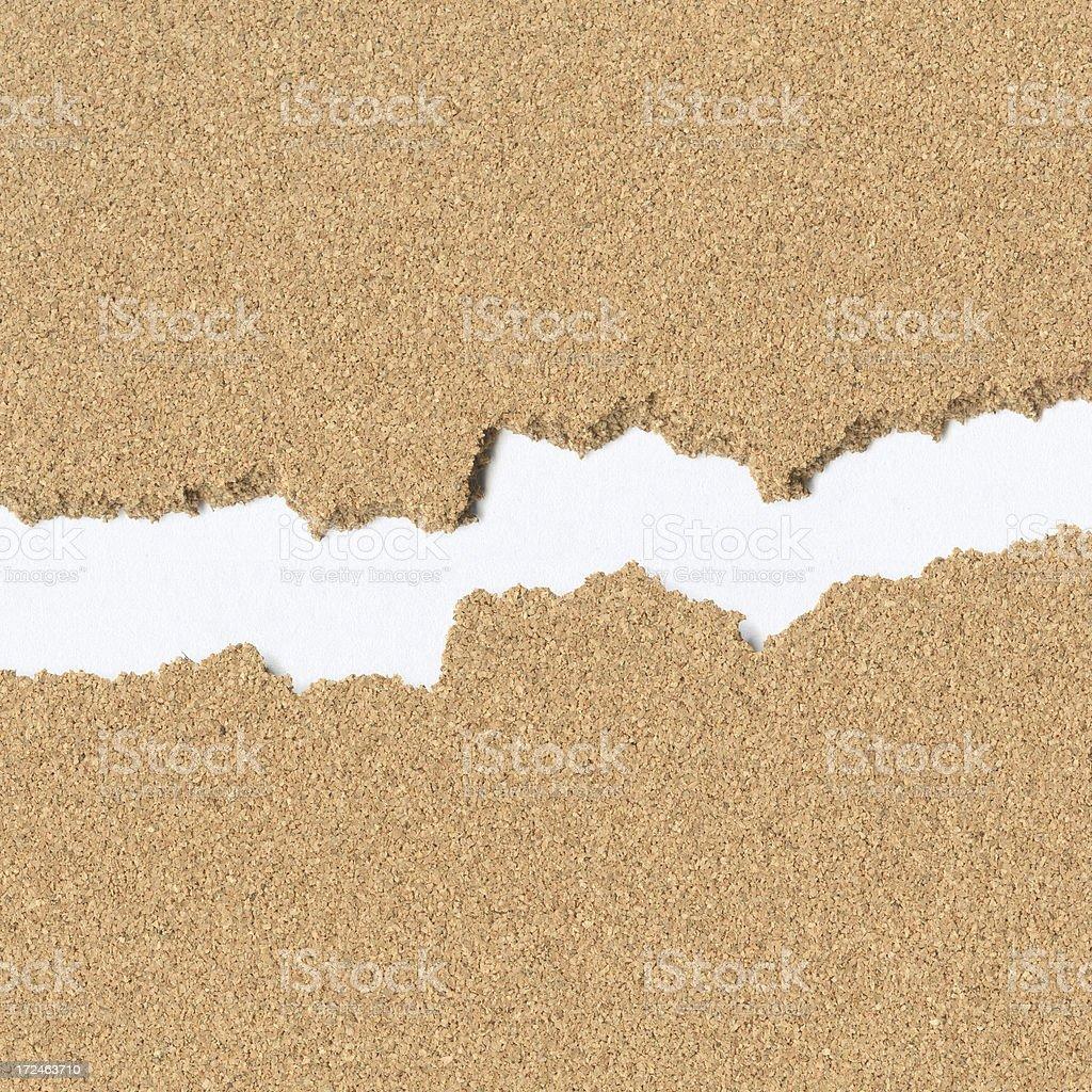 Ragged Cork Texture royalty-free stock photo