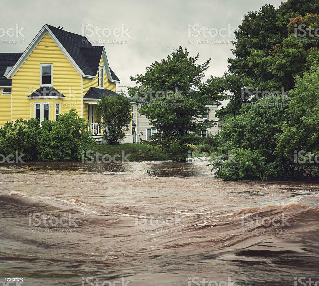 Raging River stock photo