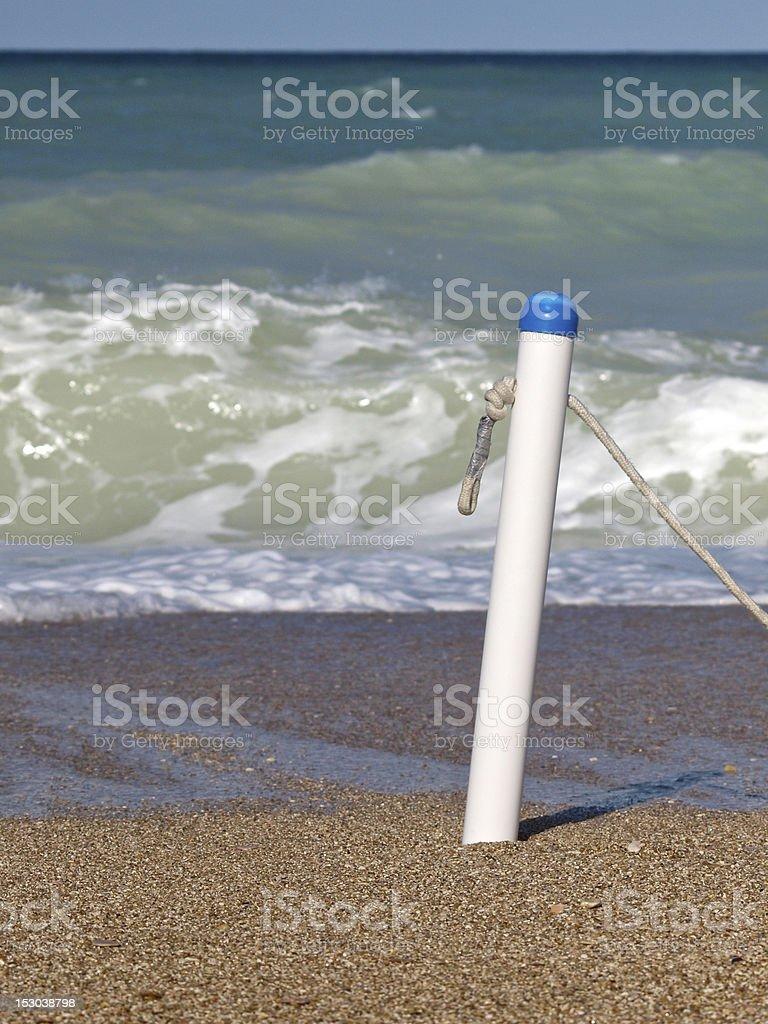 Raging sea royalty-free stock photo