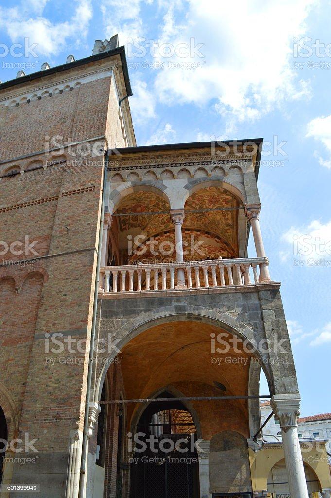 ragione palacio de padua, vista lateral foto de stock libre de derechos