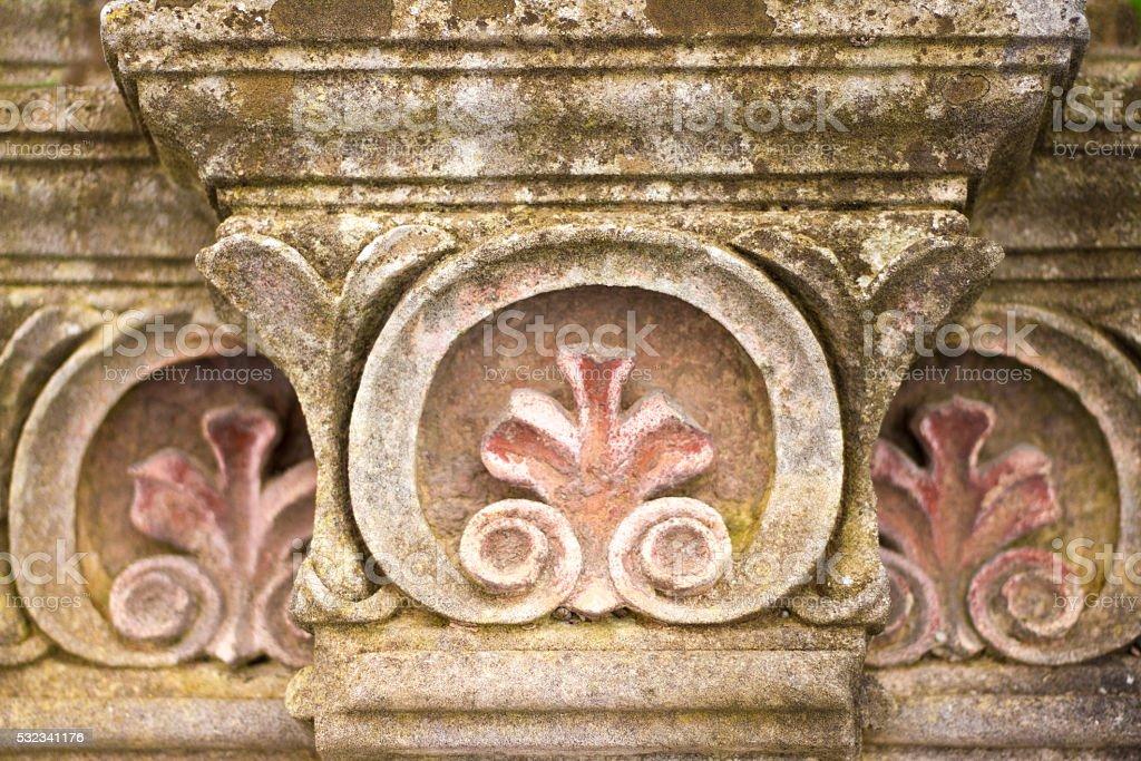Ragusa Ibla, Sicily: Beautiful Sicilian Baroque Detail stock photo