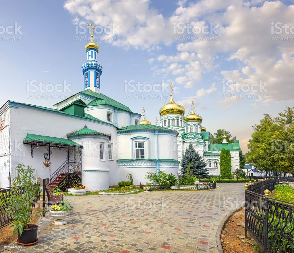 Raif monastery. Kazan, Tatarstan, Russia. stock photo