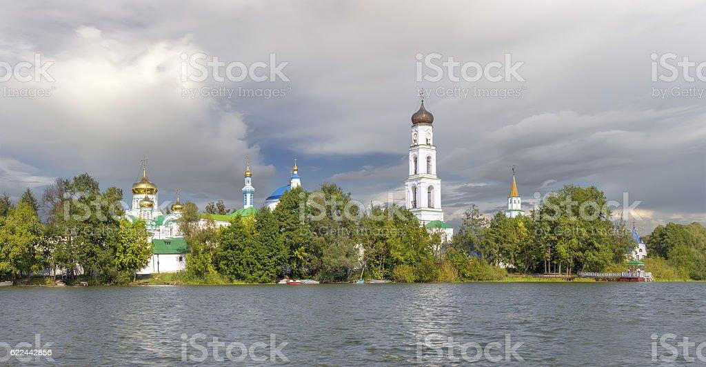 Raifa Bogoroditsky monastery. Kazan,Tatarstan, Russia stock photo