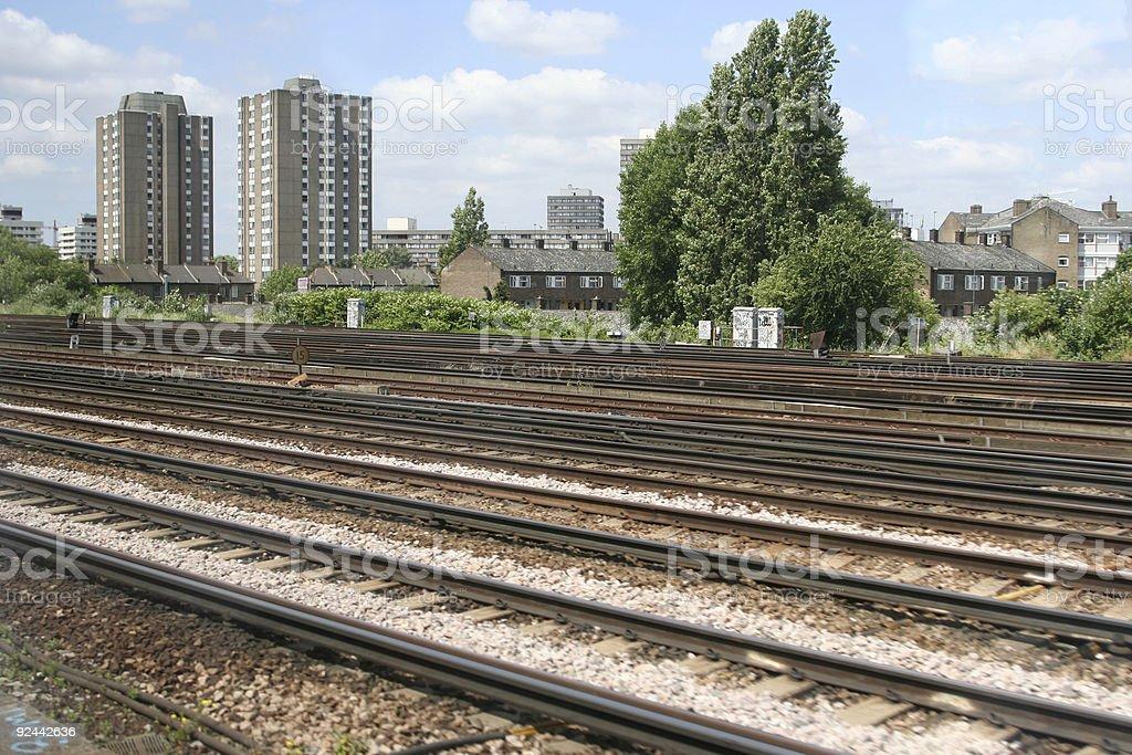 rail 01 stock photo