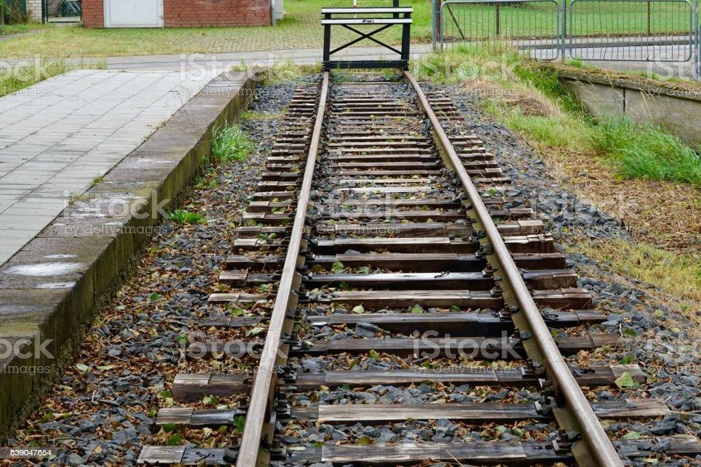 rail bumper stock photo