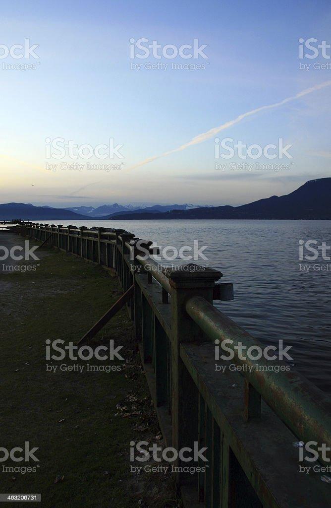 Rail royalty-free stock photo