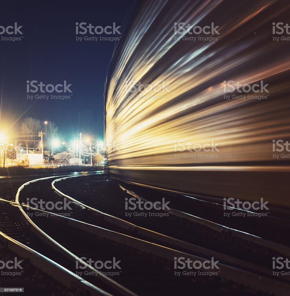 Rail Shunting Yard stock photo