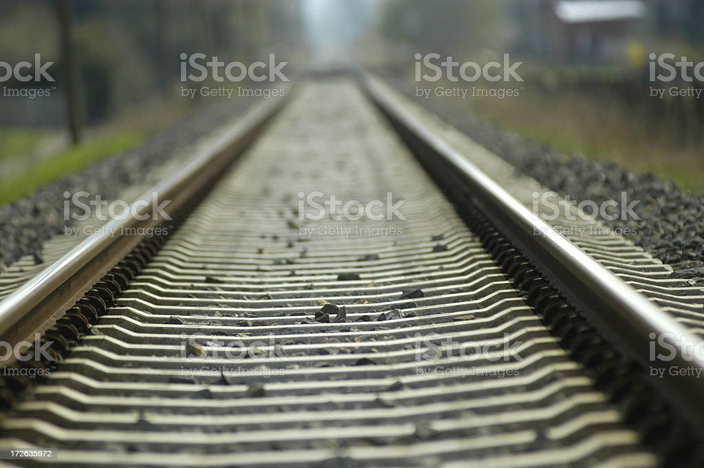 Rail Track stock photo