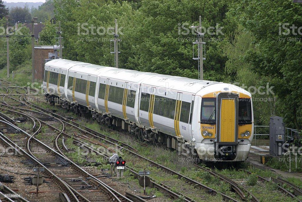 Rail Train royalty-free stock photo