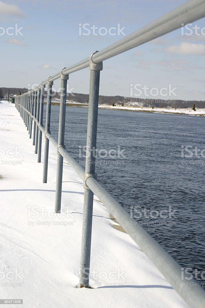 Rail View stock photo