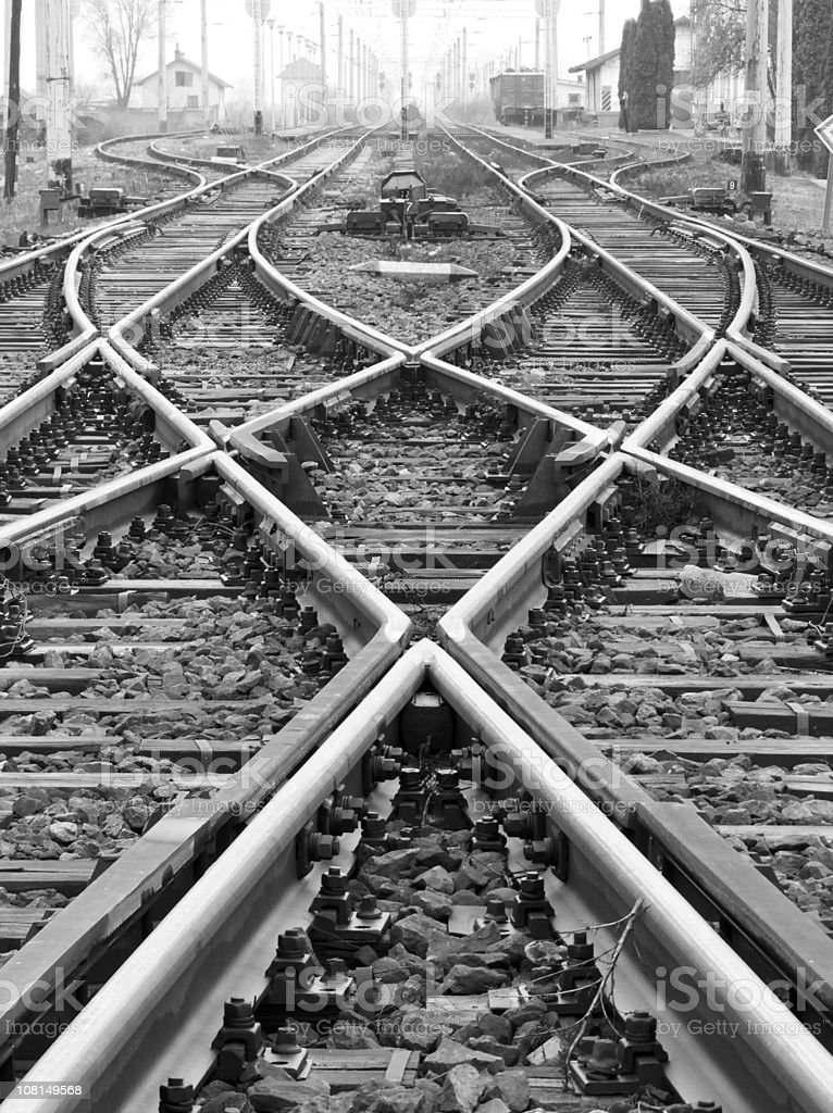 Rail Ways stock photo