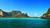 Railay is situated at Krabi province, Thailand.