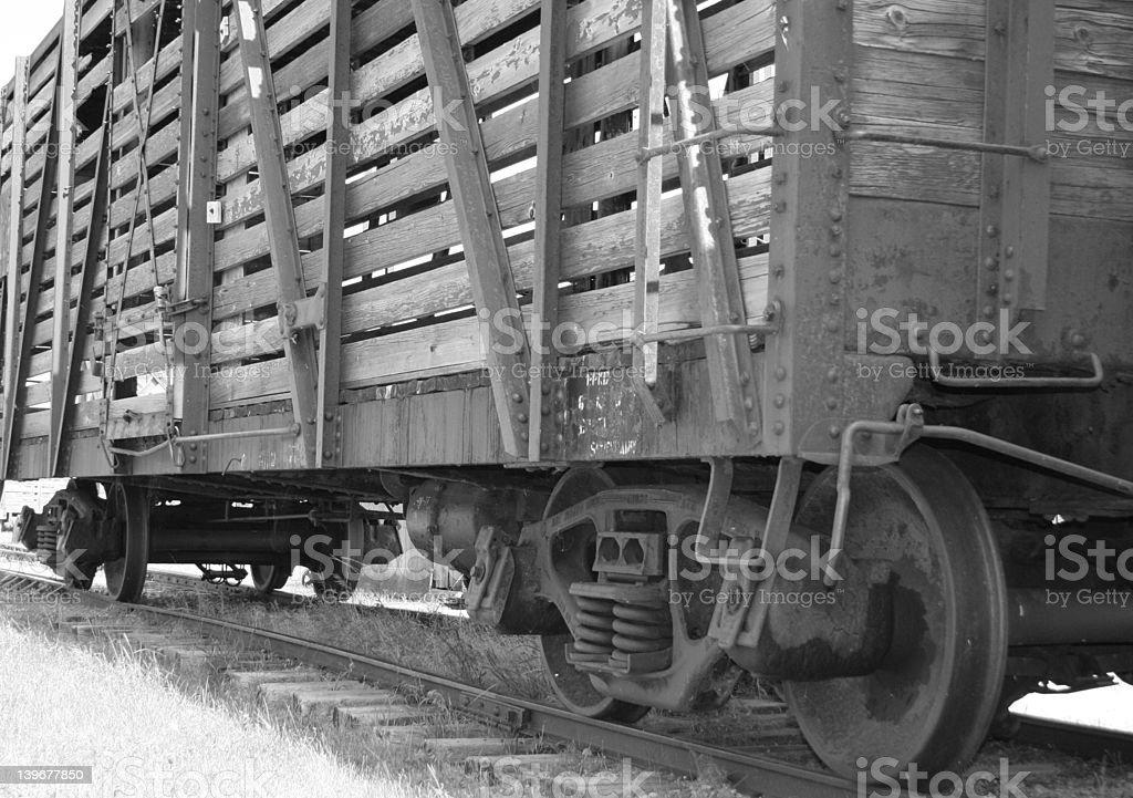 railcar royalty-free stock photo