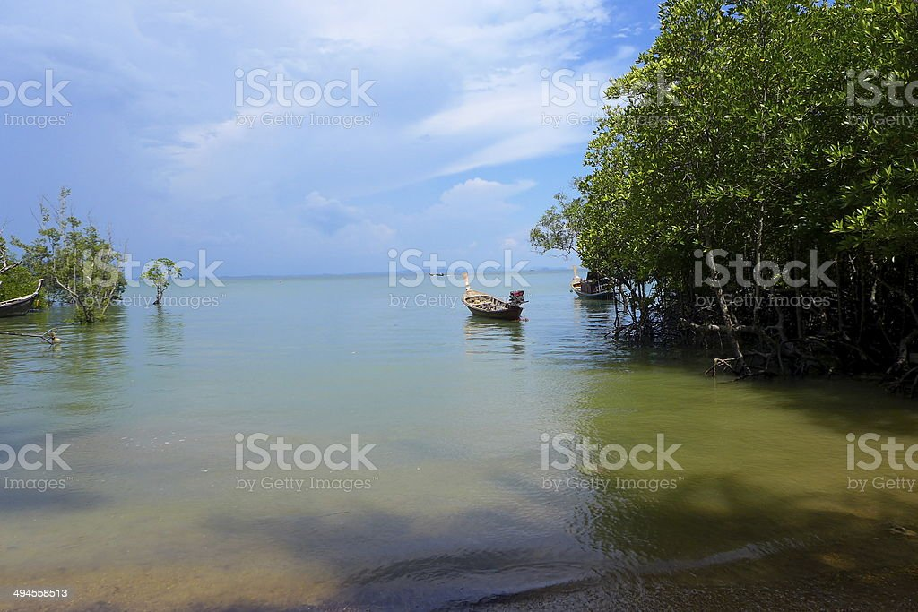 Railey,Krabi Thailand sea royalty-free stock photo