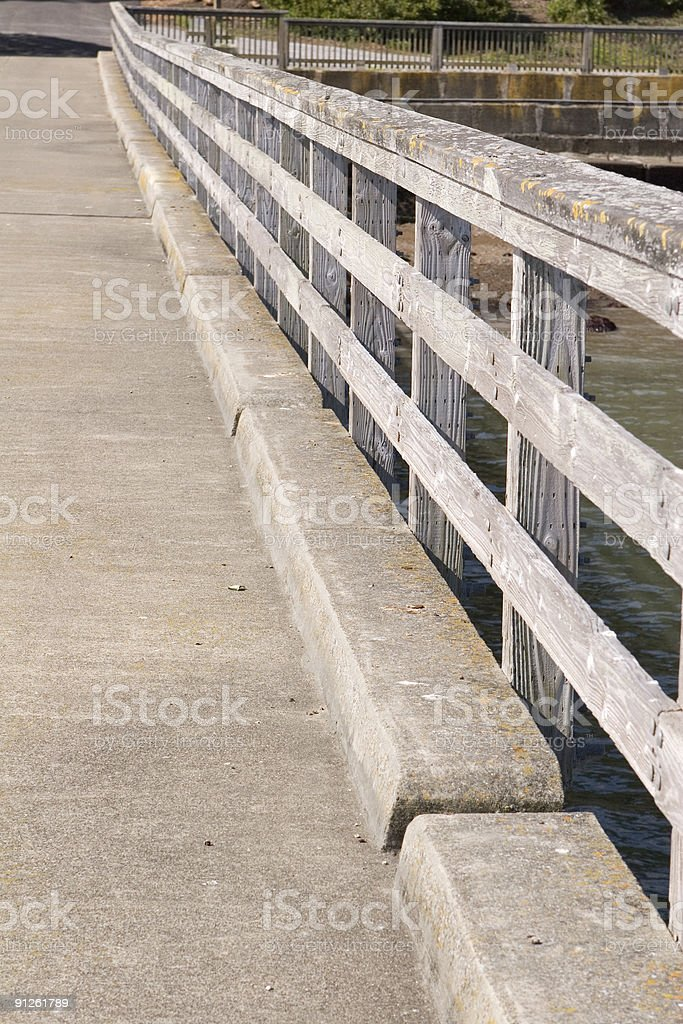 Railing Diagonal royalty-free stock photo