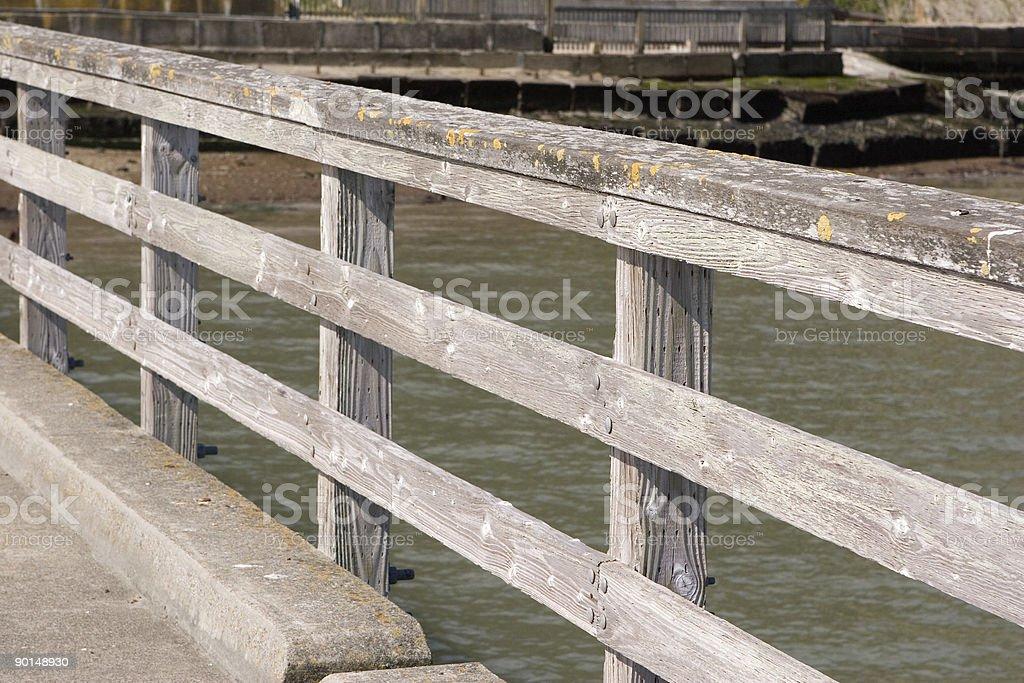 Railing Horizontal royalty-free stock photo