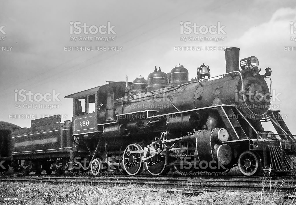 WK & S Railroad Engine #250 stock photo