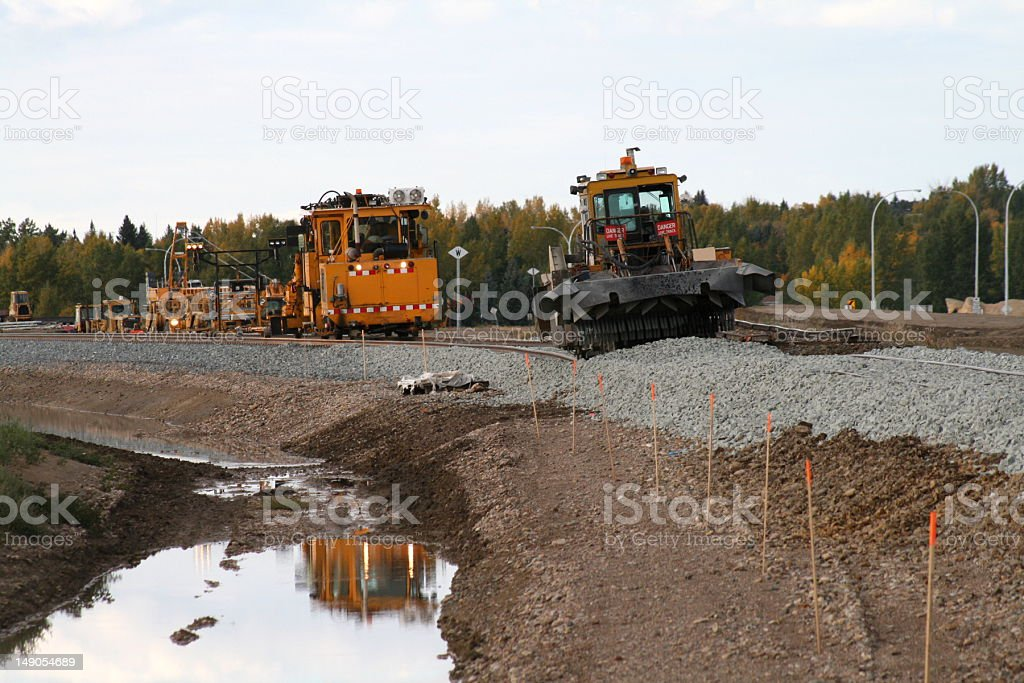 Railroad Equipment stock photo