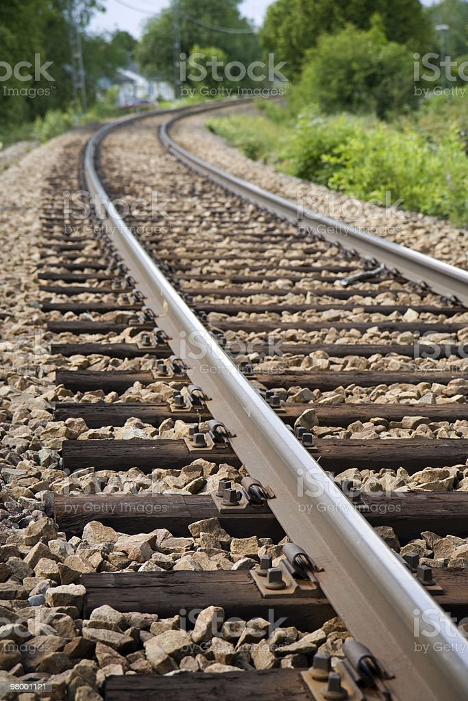 Railroad royalty-free stock photo