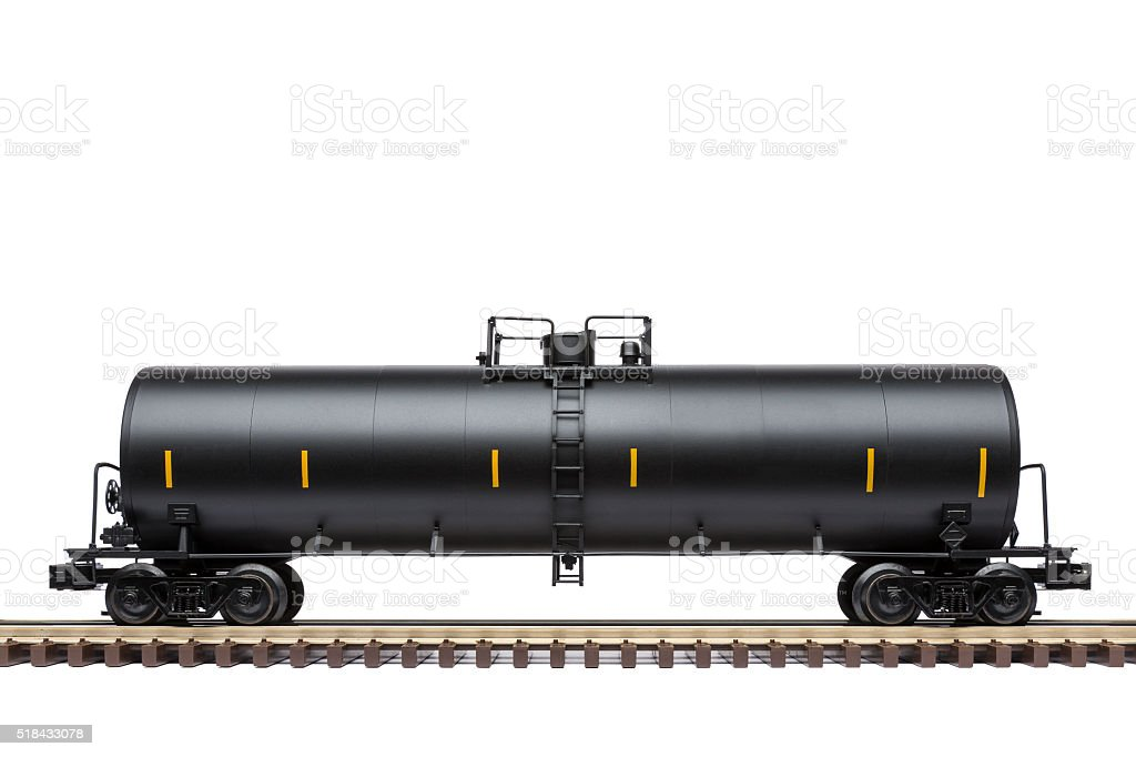 Railroad Tank Car stock photo
