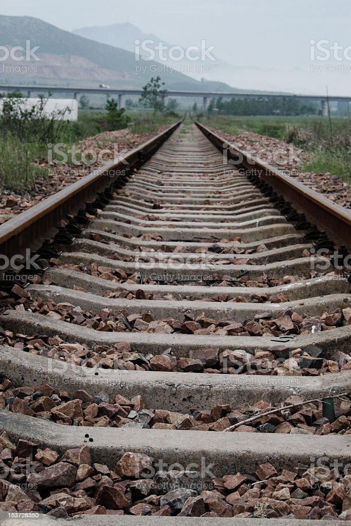 Ferrovia foto stock royalty-free
