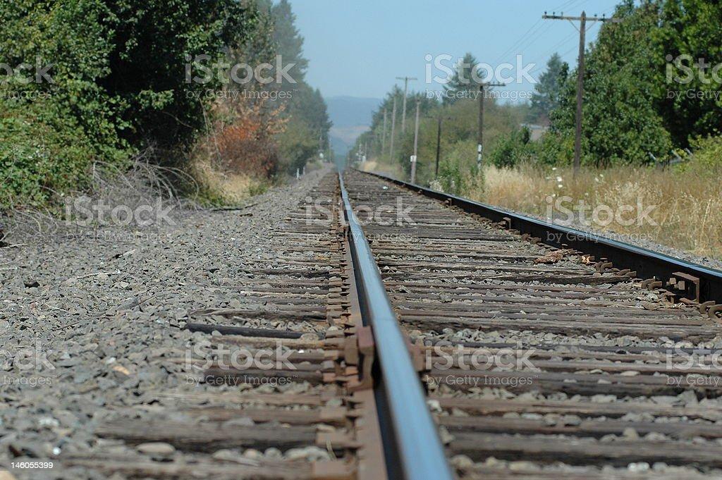 鉄道のトラック ロイヤリティフリーストックフォト
