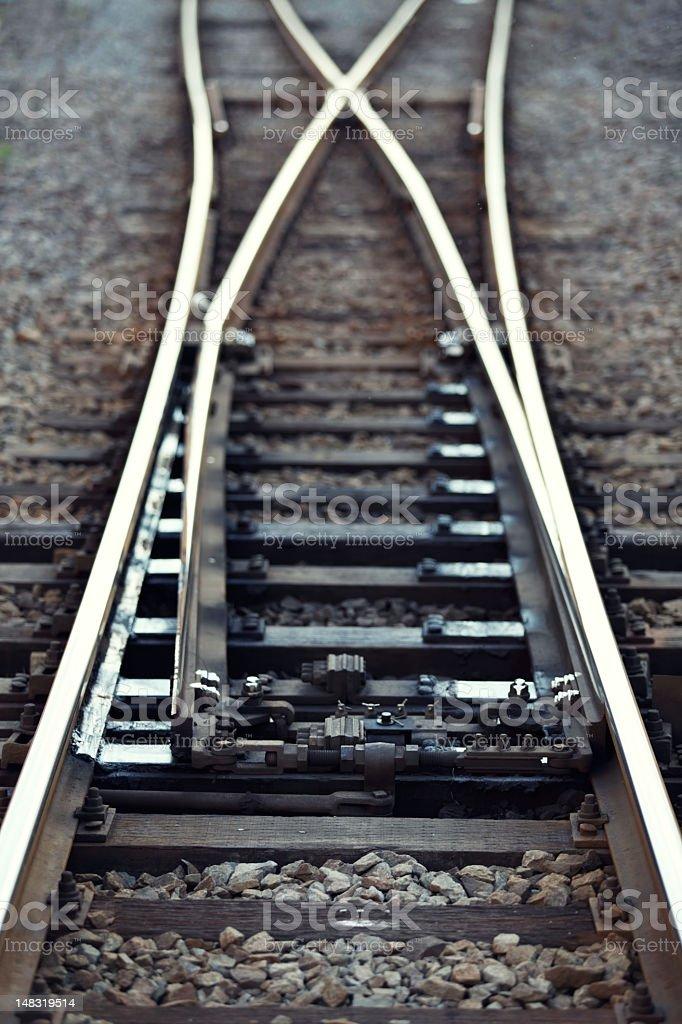Bahngleise Lizenzfreies stock-foto