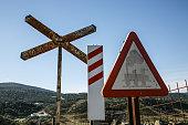 Railroad traffic signs