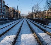 Railroad tram