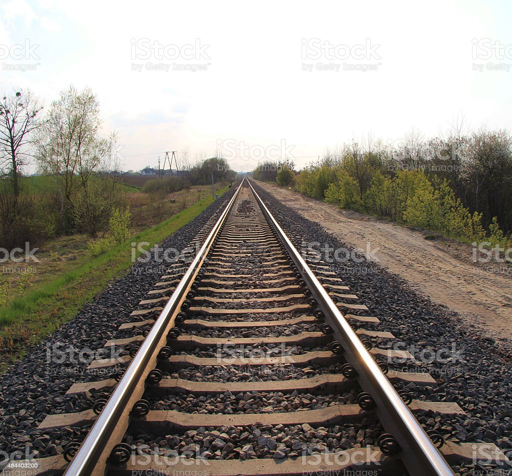 Rails stock photo