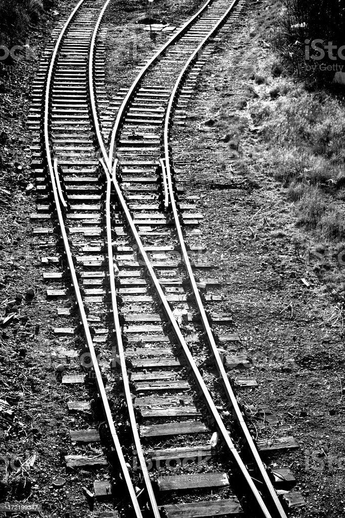 Railtruck Junction royalty-free stock photo