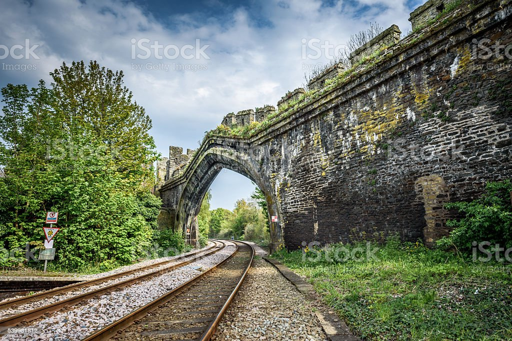 Railway Arch stock photo