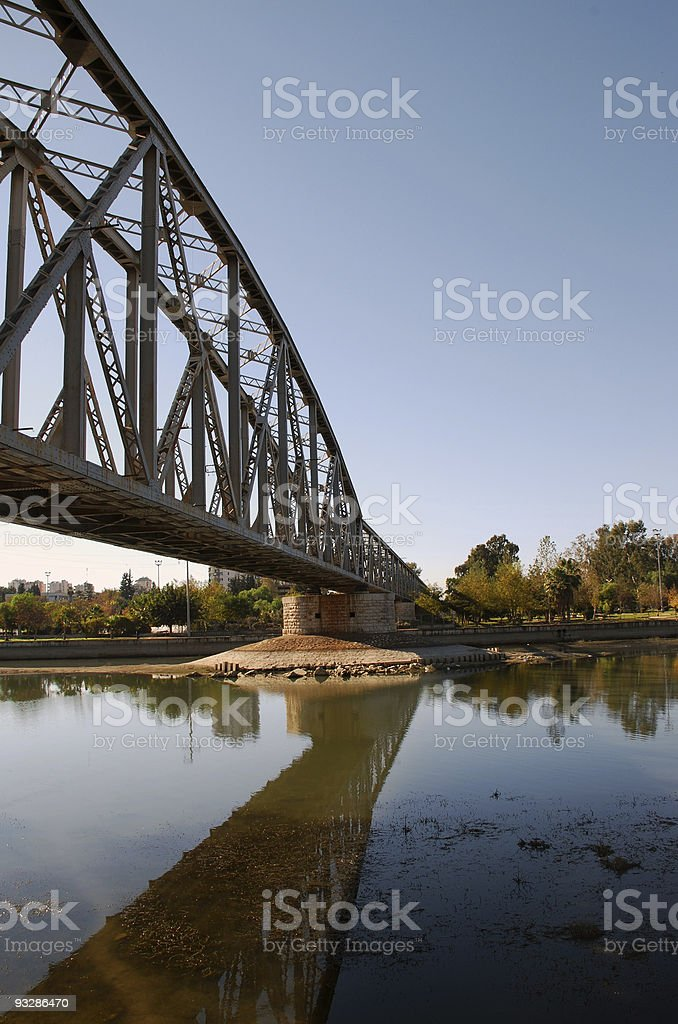 Railway Bridge stock photo