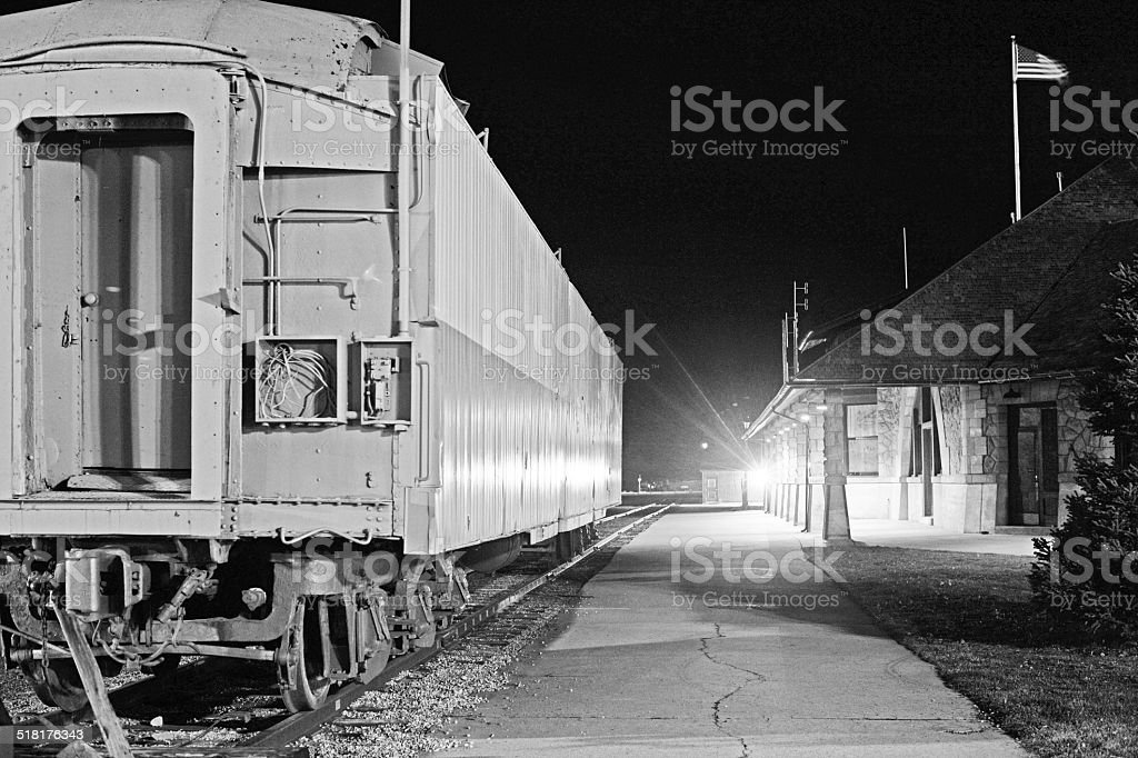railway car stock photo