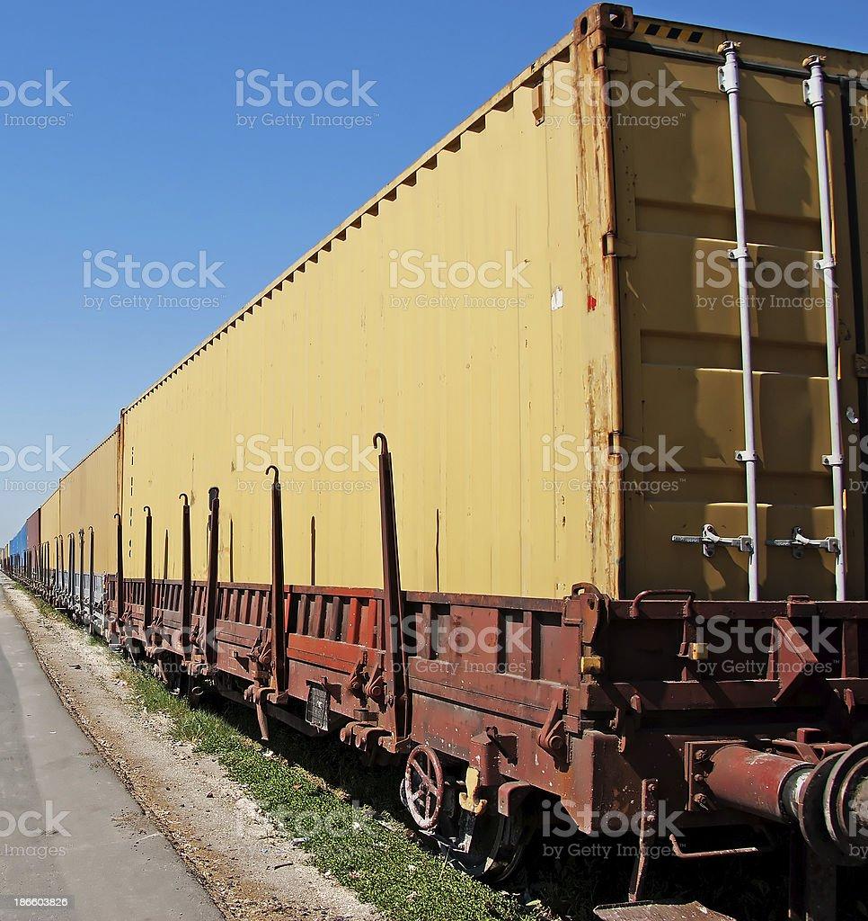 Railway Conveyance stock photo