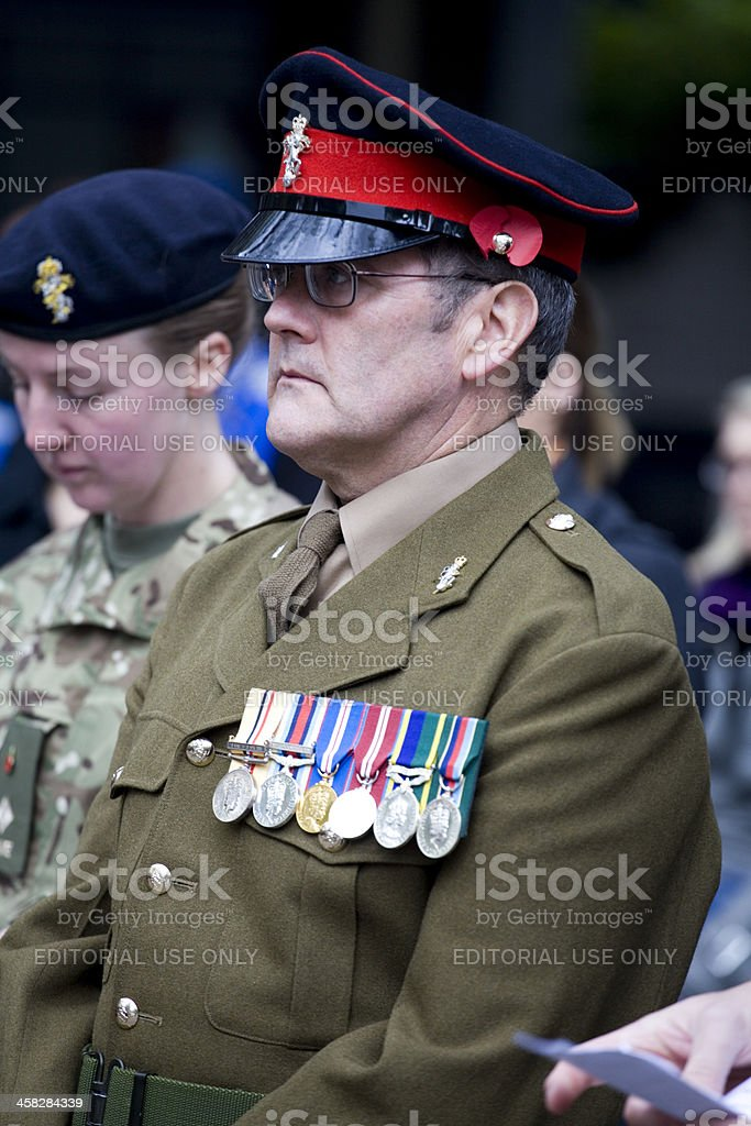 Railway Network Remembrance Services London Euston Station stock photo