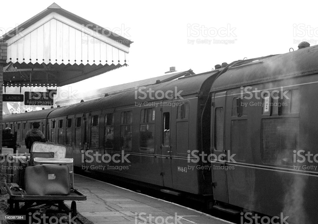 Railway nostalgia royalty-free stock photo