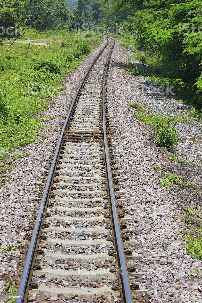 railway royalty-free stock photo