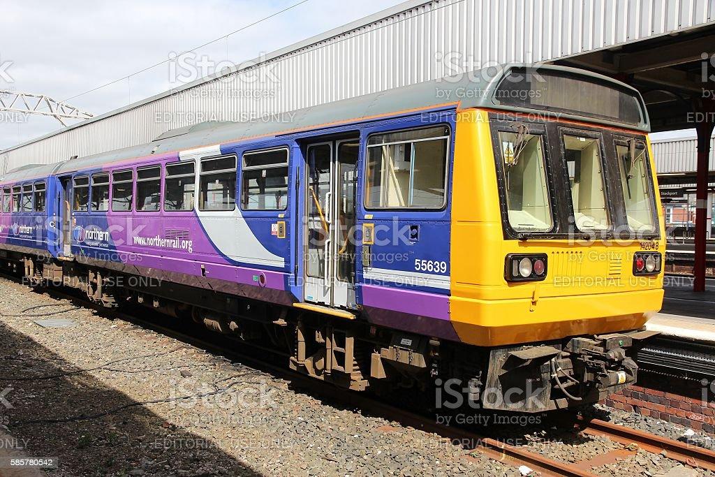 UK railway stock photo
