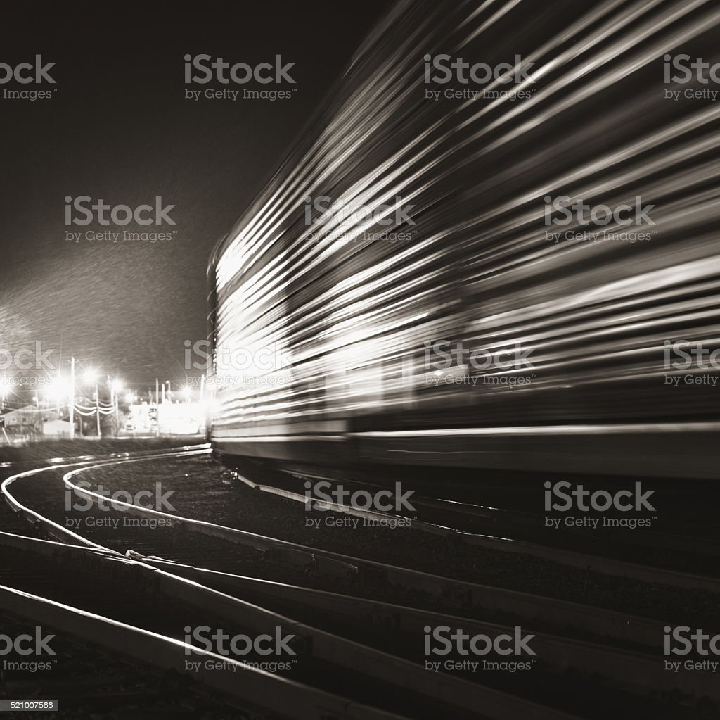 Railway Shunting Yard stock photo