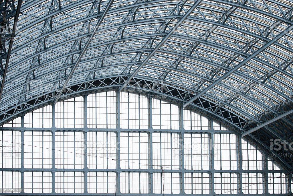Railway Station Architecture stock photo