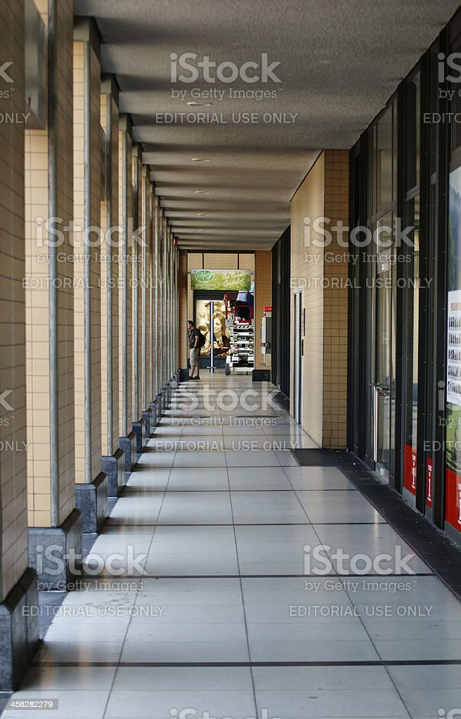 Railway station Kassel royalty-free stock photo