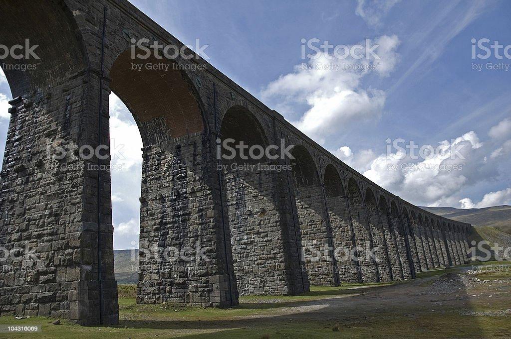 Railway Viaduct stock photo