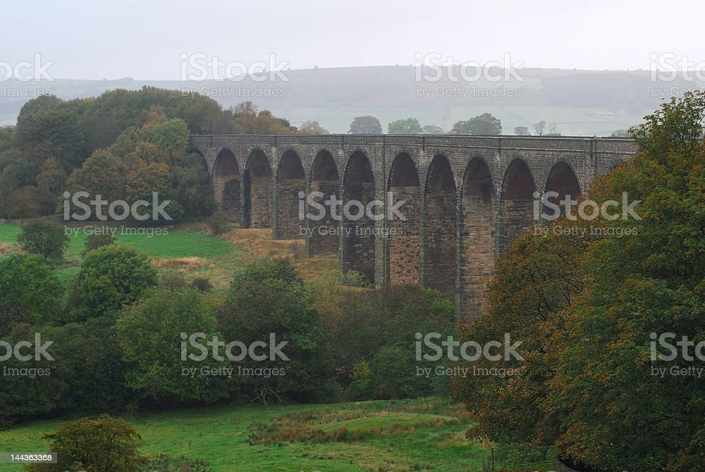 Railway Viaduct stock photo