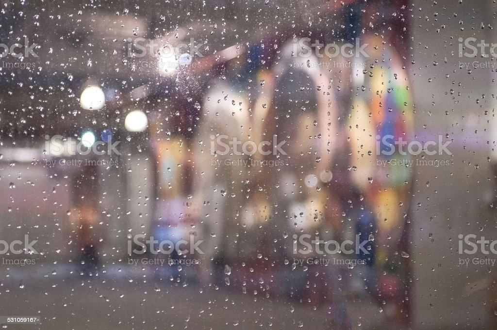 Rain Abstract stock photo