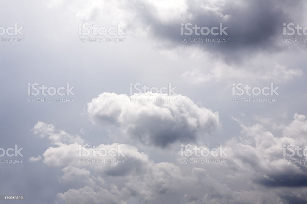 Rain clouds royalty-free stock photo