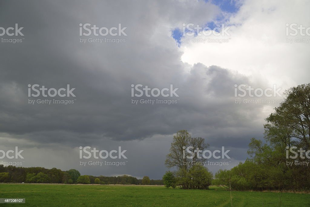 Rain Clouds royalty-free stock photo