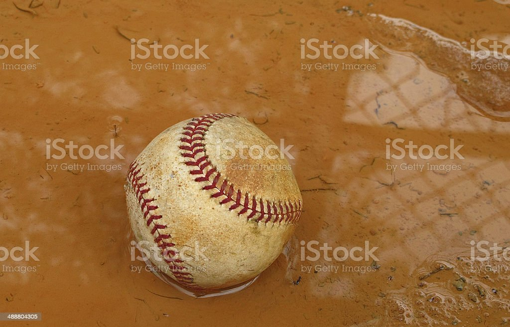 Rain Delay stock photo