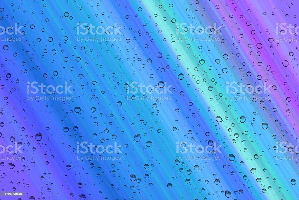 Rain drops background royalty-free stock photo